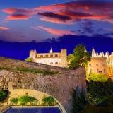 Palazzo di Almudaina in Palma de Mallorca Majorca Fotografie Stock Libere da Diritti