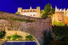 Palazzo di Almudaina in Palma de Mallorca Majorca Immagini Stock Libere da Diritti
