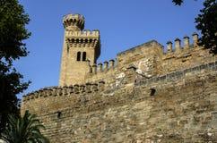 Palazzo di Almudaina in Palma di Maiorca Fotografia Stock
