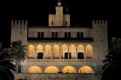 Palazzo di Almudaina in Palma di Maiorca Immagini Stock