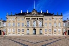 Palazzo di Amalienborg Fotografie Stock Libere da Diritti