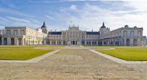Palazzo di Aranjuez in Spagna Fotografia Stock Libera da Diritti