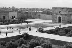 Palazzo di Baia a Marrakesh Immagini Stock