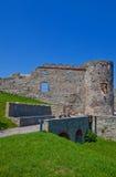 Palazzo di Bathory (XVI C.) del castello di Devin. Bratislava, Slovacchia Fotografia Stock Libera da Diritti
