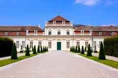 Palazzo di belvedere, Vienna immagini stock libere da diritti