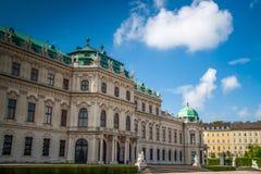 Palazzo di belvedere, Vienna, Austria fotografia stock