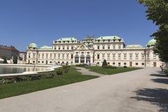 Palazzo di belvedere, Vienna, Austria Immagini Stock