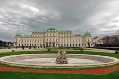 Palazzo di belvedere - Vienna, Austria fotografie stock libere da diritti