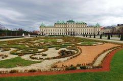 Palazzo di belvedere - Vienna, Austria fotografie stock