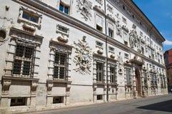 Palazzo di Bentivoglio. Ferrara. L'Emilia Romagna. L'Italia. Fotografia Stock Libera da Diritti