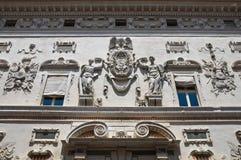 Palazzo di Bentivoglio. Ferrara. L'Emilia Romagna. L'Italia. Immagine Stock Libera da Diritti