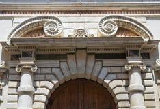 Palazzo di Bentivoglio. Ferrara. L'Emilia Romagna. L'Italia. Fotografie Stock Libere da Diritti