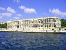 Palazzo di Beylerbeyi, Istambul, Turchia Immagini Stock Libere da Diritti