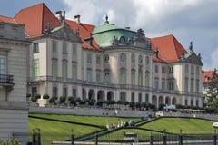 Palazzo di Blacha del baccello del palazzo del Rame-tetto - museo e centro espositivo dello stato in Città Vecchia a Varsavia, Po Immagini Stock Libere da Diritti