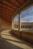 Palazzo di Carlos V a Granada, Spagna Fotografia Stock Libera da Diritti