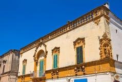 Palazzo di Carrieri Fasano La Puglia L'Italia Fotografia Stock