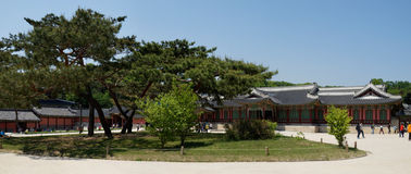 Palazzo di Changdeok, Corea del Sud Fotografia Stock