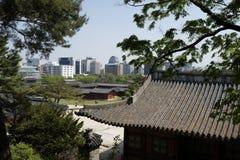Palazzo di Changdeok, Corea del Sud Immagine Stock Libera da Diritti