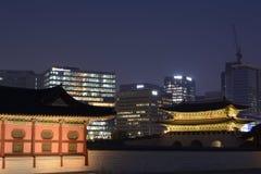 Palazzo di Changdeokgung Fotografia Stock