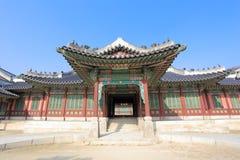 Palazzo di Changdeokgung Immagine Stock