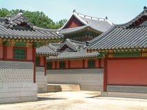 Palazzo di Changdeokgung, Seoul Fotografie Stock