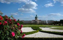 Palazzo di Charlottenburg con il giardino Berlino/Germania immagine stock