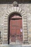 Palazzo di Chigi. Viterbo. Il Lazio. L'Italia. Immagine Stock Libera da Diritti