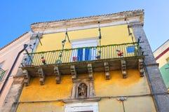Palazzo di Ciociola. Monte Sant ' Angelo. La Puglia. L'Italia. Fotografie Stock Libere da Diritti
