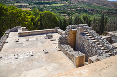 Palazzo di Cnosso, Creta, Grecia Immagini Stock