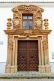 Palazzo di Condes de ValparaÃso, Almagro, Spagna Immagine Stock