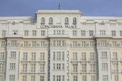 Palazzo di Copacabana, Rio de Janeiro Immagini Stock