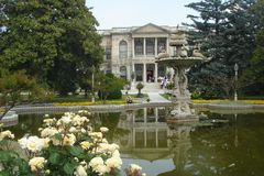 Palazzo di Dolmabahce Fotografia Stock Libera da Diritti