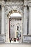 Palazzo di Dolmabahce a Costantinopoli Immagini Stock Libere da Diritti