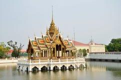 Palazzo di dolore di colpo a Ayutthaya Fotografia Stock Libera da Diritti