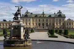 Palazzo di Drottningholm Fotografia Stock Libera da Diritti