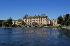 Palazzo di Drottningholm Immagini Stock