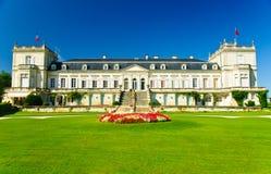 Palazzo di Ducru-Beaucaillou del chateau, Medoc, Francia Fotografia Stock