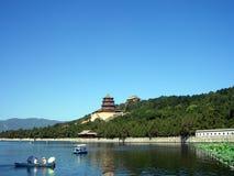 Palazzo di estate cinese a Pechino Fotografie Stock Libere da Diritti