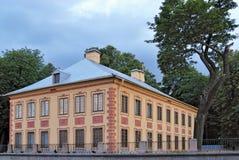 Palazzo di estate del Peter I a St Petersburg Immagini Stock Libere da Diritti