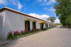 Palazzo di estate di Norbulingka Immagine Stock
