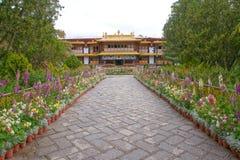 Palazzo di estate di Norbulingka Fotografie Stock Libere da Diritti