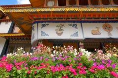 Palazzo di estate di Norbulingka Fotografia Stock Libera da Diritti