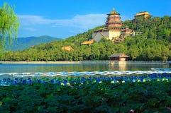 Palazzo di estate di Pechino, Cina Immagini Stock Libere da Diritti
