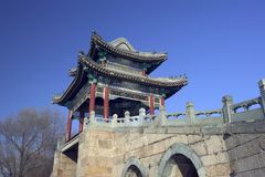 Palazzo di estate, Pechino Fotografia Stock