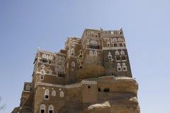 Palazzo di estate a Wadi Dhar Immagine Stock Libera da Diritti