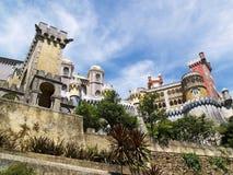 Palazzo di fairy-tale di Sintra Immagini Stock Libere da Diritti