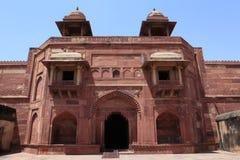 Palazzo di Fatehpur in India immagine stock