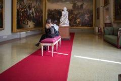 Palazzo di Firenze, Italia Pitti Fotografie Stock
