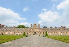 Palazzo di Fontainebleau in Francia immagini stock