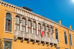 Palazzo di Franchetti Immagine Stock Libera da Diritti